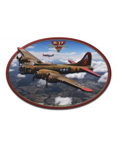 B-17 Flying Fortress 3-D, Featured Artists/All American Art by Larry Grossman, 3D, 20 X 14 Inches