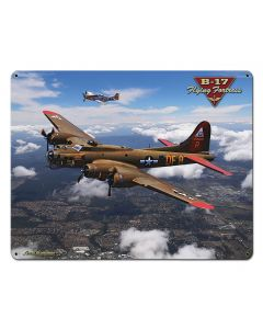 B-17 Flying Fortress, Featured Artists/All American Art by Larry Grossman, Plasma, 24 X 30 Inches