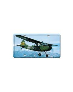 L19 Bird Dog, Aviation, License Plate, 6 X 12 Inches
