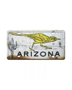 Roadrunner, Travel, License Plate, 12 X 6 Inches