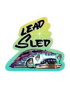 Lead Sled, Automotive, Custom Metal Shape, 17 X 18 Inches
