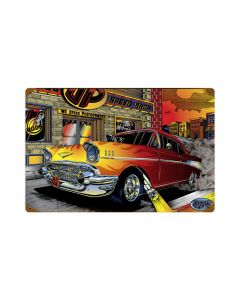 Chevy Speed Shop, Automotive, Vintage Metal Sign, 18 X 12 Inches