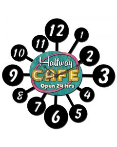 HALFWAY CAFE, , , 24 X 24 Inches
