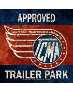Tcma Approved Trailer Park, Featured Artists/Old Skool Now, Plasma, 36 X 36 Inches