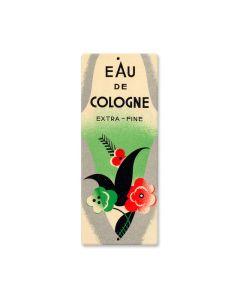 Eau De Cologne, Home and Garden, Custom Metal Shape, 5 X 12 Inches