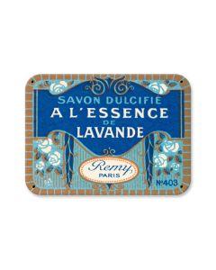 Savon Lavande, Home and Garden, Custom Metal Shape, 10 X 8 Inches