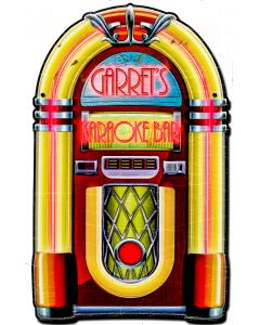 Personalized Jukebox, Personalized, PLASMA , 22 X 16 Inches