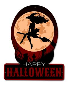 Halloween Witch, Halloween, SATIN PLASMA , 12 X 15 Inches