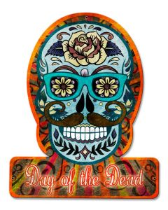 Day Of The Dead Hipster, Day of the Dead, SATIN PLASMA , 12 X 15 Inches