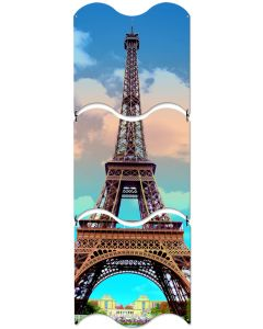 Eiffel Tower, Travel, Triptych, 12 X 36 Inches