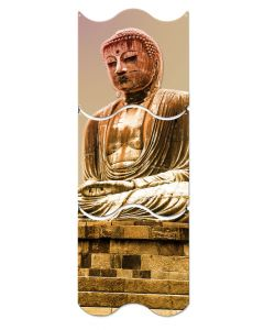 Great Buddha Statue, Travel, Triptych, 12 X 36 Inches