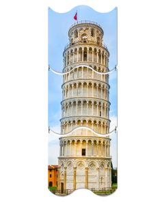 Leaning Tower of Pisa, Travel, Triptych, 12 X 36 Inches