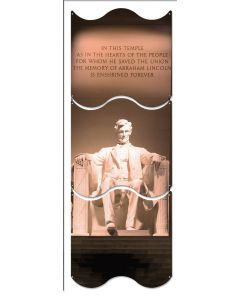 Lincoln Memorial, Travel, Triptych, 12 X 36 Inches