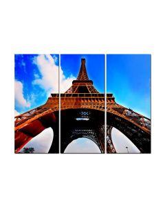 Eiffel Tower Triptych, Triptych, Triptych, 48 X 36 Inches