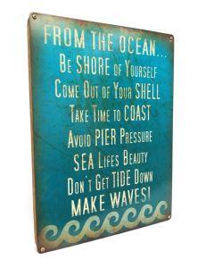 Oceanic Advice, , , 12 X 16 Inches