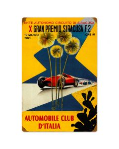 Sircusa Cirsut, Automotive, Vintage Metal Sign, 16 X 24 Inches
