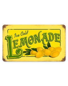 Lemonade, Food and Drink, Vintage Metal Sign, 14 X 8 Inches