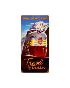 Canadian Pacific, Travel, Vintage Metal Sign, 12 X 24 Inches