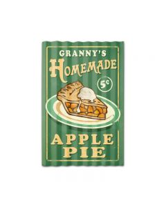 Home Made Pies Corrugated, Food and Drink, Corrugated Rustic Barn Wood Sign, 16 X 24 Inches