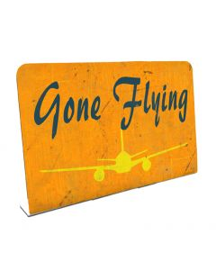 Gone Flying, , Table Topper, 6 X 4 Inches