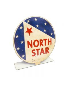 North Star Gas Topper, Automotive, Table Topper, 8 X 8 Inches
