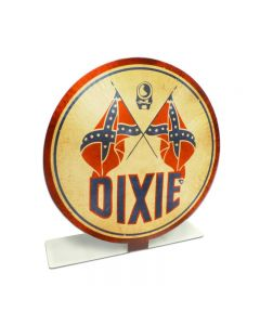 Dixie Gas Topper, Automotive, Table Topper, 8 X 8 Inches
