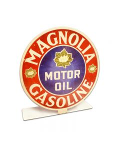 Magnolia Gas Topper, Automotive, Table Topper, 8 X 8 Inches