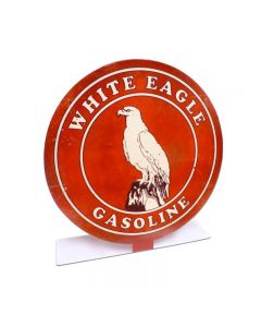White Eagle Gas Topper, Automotive, Table Topper, 8 X 8 Inches