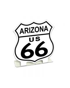 Route 66 Arizona Topper, Travel, Table Topper, 7 X 7 Inches