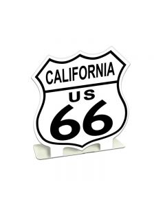 Route 66 California, Bar and Alcohol, Table Topper, 7 X 7 Inches