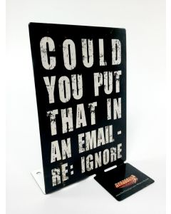 Email, Humor, Table Topper, 4 X 6 Inches