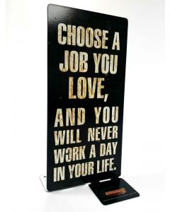 Love Job, Table Toppers, Table Topper, 4 X 9 Inches