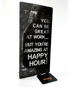 Happy Hour, Table Toppers, Table Topper, 4 X 9 Inches