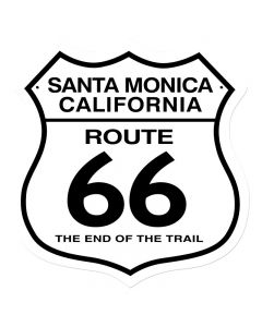 Santa Monica, Street Signs, Shield Metal Sign, 15 X 15 Inches