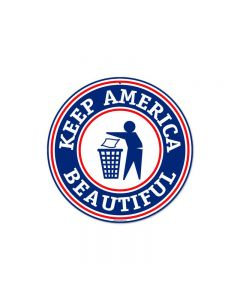 Keep America, Other, Round Metal Sign, 14 X 14 Inches