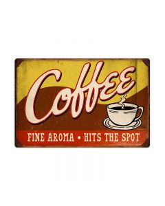 Coffee, Food and Drink, Vintage Metal Sign, 24 X 16 Inches