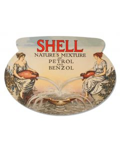 Natures Mixture Deluxe, Featured Artists/Shell, Oval, 15 X 22 Inches