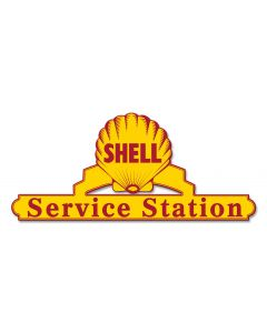 Shell Service Station, Featured Artists/Shell, Plasma, 25 X 11 Inches