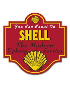 Shell The Modern Upkeep Service, Featured Artists/Shell, Plasma, 20 X 19 Inches