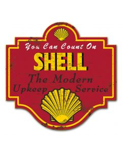 Shell The Modern Upkeep Service Grunge, Featured Artists/Shell, Plasma, 20 X 19 Inches