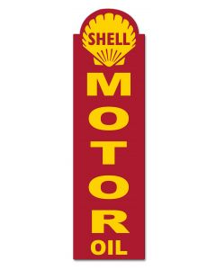 Shell Motor Oil, Featured Artists/Shell, Plasma, 8 X 30 Inches