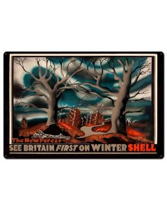 See Britain First on Winter Shell, Featured Artists/Shell, Satin, 36 X 24 Inches