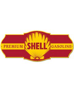 Premium Shell Gasoline, Featured Artists/Shell, Plasma, 27 X 11 Inches