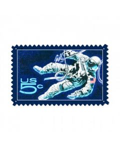 NASA Spacewalk, Aviation, Custom Metal Shape, 24 X 15 Inches