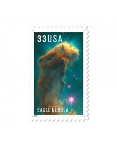Eagle Nebula, Aviation, Custom Metal Shape, 15 X 24 Inches