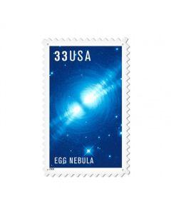 Egg Nebula, Aviation, Custom Metal Shape, 15 X 24 Inches