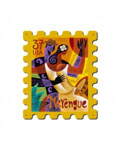 Dance Merengue, Home and Garden, Stamp Metal Sign, 15 X 19 Inches
