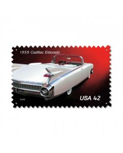 1959 Cadillac, Automotive, Vintage Metal Sign, 16 X 24 Inches